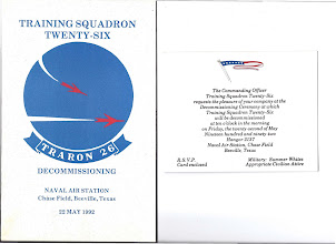 Photo: Invitation to VT 26 Decommissioning Ceremony Contributed by Richard Rotzman VT 26 '65-68