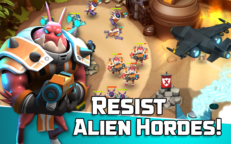 Alien Creeps TD - Epic tower defense Screenshot 13