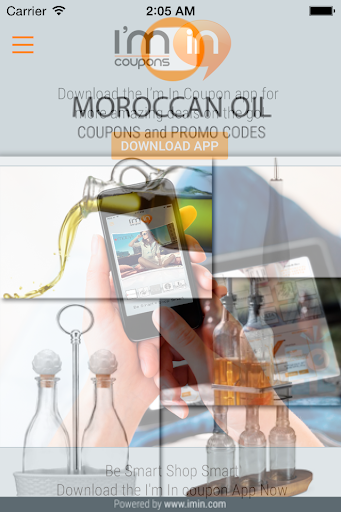 Moroccan Oil Coupons - I'm in