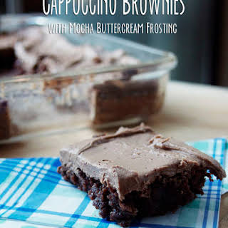 Cappuccino Brownies.