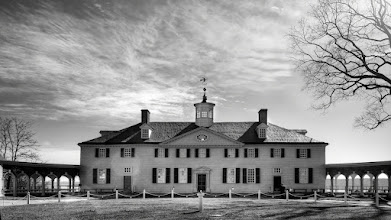 Photo: Happy Independence Day  Instead of flags and fireworks, I decided to share this photo of George Washington's home at Mount Vernon. Little did I know that the sun's reflection from my lens would cause it to burn a hole on the left side of the house. Sorry, George.  If you like this photo, there are more like it on my blog at http://williambeem.com