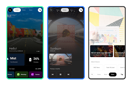 Visione for KLWP Mod Apk v1.0.0 (Paid) 2