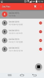 SecRec - Secret Audio Recorder screenshot 1