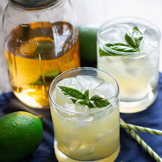 Basil Vodka Gimlet Recipe