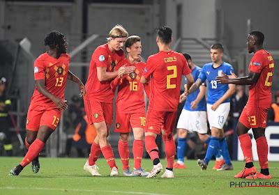 Deux premières pour Yari Verschaeren contre les U21 italiens !