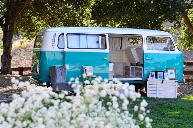 "Formal Hippie Bus  ""Sven"" Photo booth and More! Hire CA"