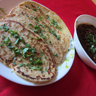 Homemade Whole Wheat Naan