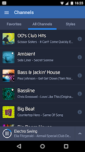 Digitally Imported Radio - screenshot thumbnail