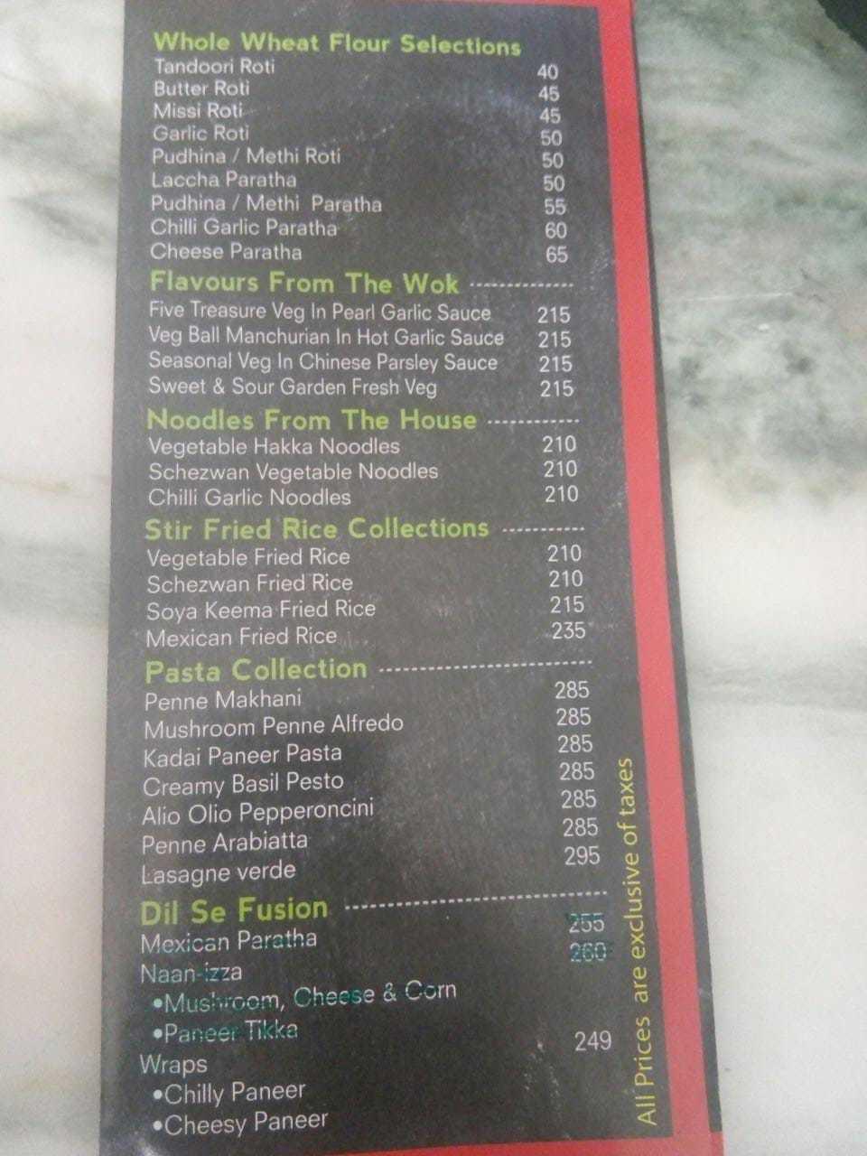#Dilliwaala6 menu 4
