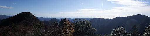 亀岩からパノラマ(南側)