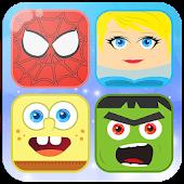 Memory Cartoon Game for Kids
