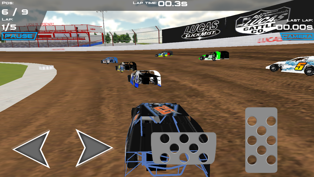Dirt Trackin- screenshot