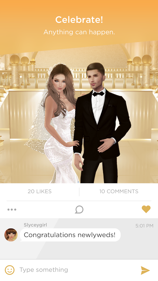 IMVU Mobile- screenshot