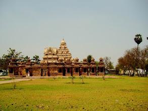 Photo: #018-Kanchipuram, le temple de Kailashanatha