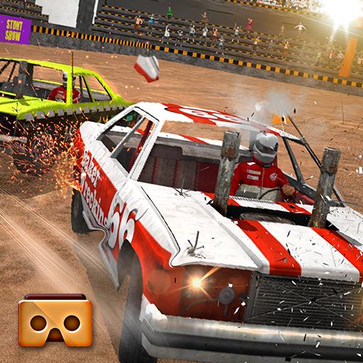 VR Demolition Derby Crash Race