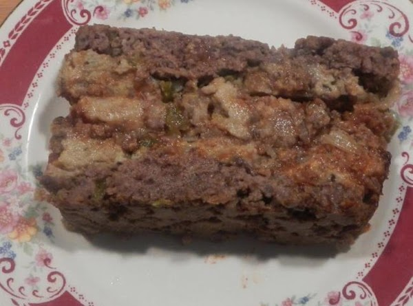 Meatloaf W/a Stuffing Stuffed Center #Recipe 2