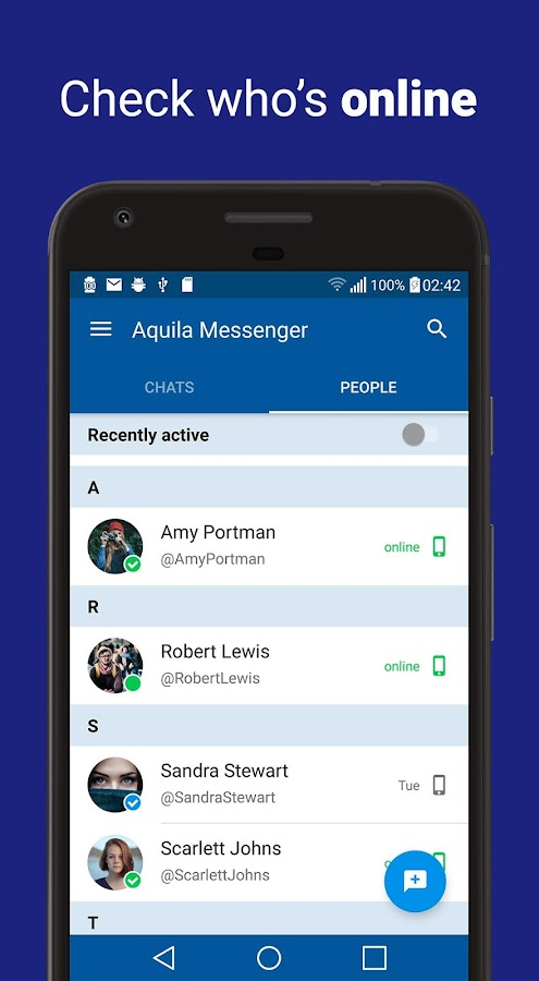 Aquila Messenger for Twitter (Unreleased)- screenshot