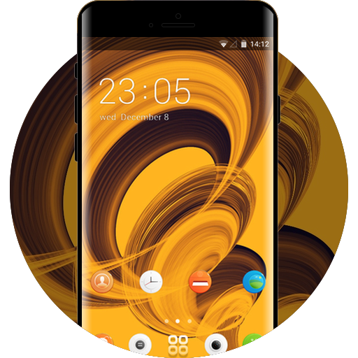 Yellow Abstract Wallpaper Hd For Samsung Apps On Google Play