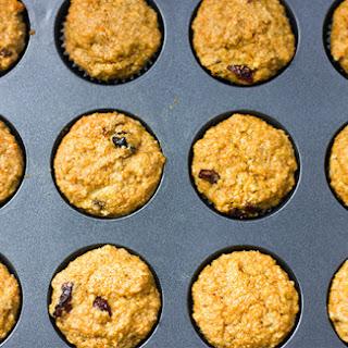 Healthy Mini Branana Berry Muffins.