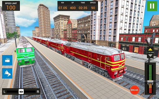 City Train Driving Simulator: Public Train 1.0 screenshots 1