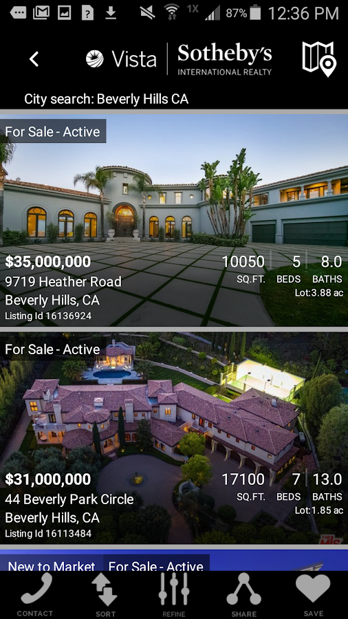 Sotheby's International Realty- screenshot