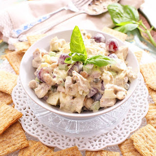 Chicken Salad For One.