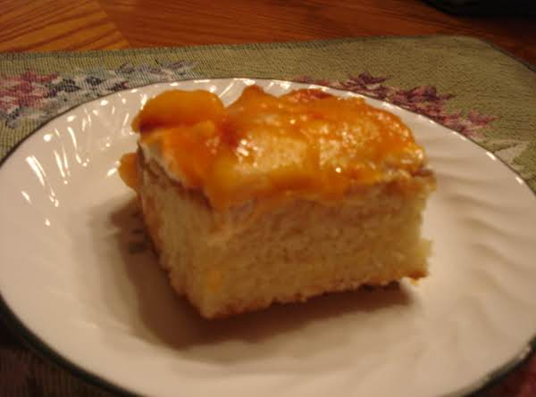 Peaches & Cream Cake Recipe