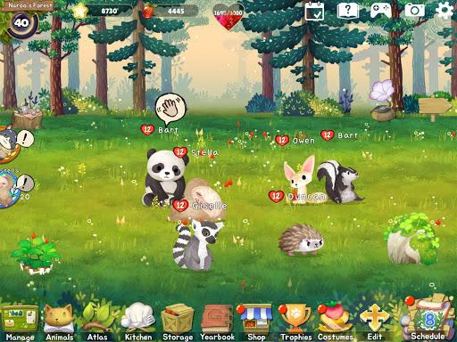 Animal Forest : Fuzzy Seasons (Start Pack Edition)  screenshots 12