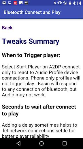 Bluetooth connect & Play screenshot 6