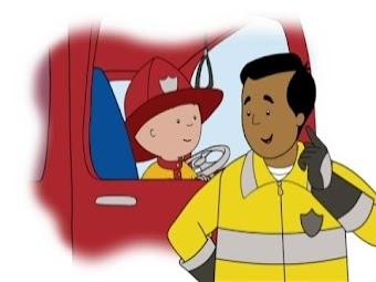 Caillou the Firefighter