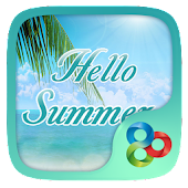 Hello Summer GO Launcher Theme