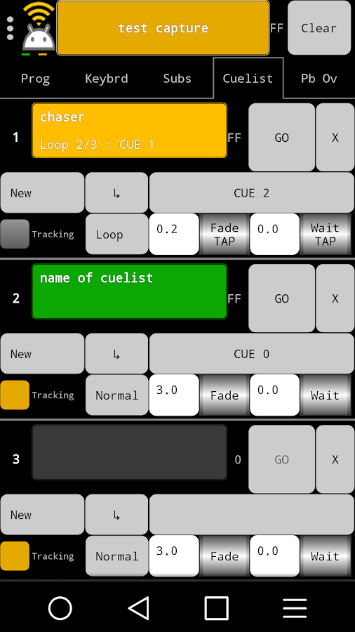 Art-Net Controller LITE- screenshot