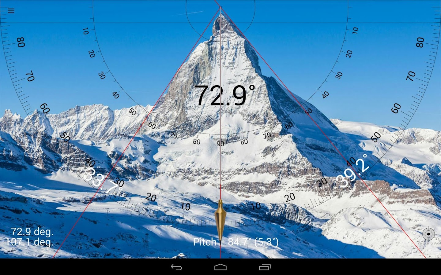 Smart Protractor- screenshot