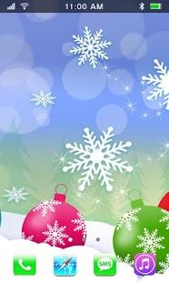 Winter Decoration Live Wallpaper - náhled