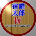 (当たりすぎて怖い性格占い)・宿曜太郎 梅 Light icon