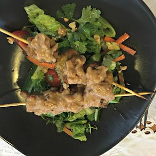 Sensational Chicken Satay