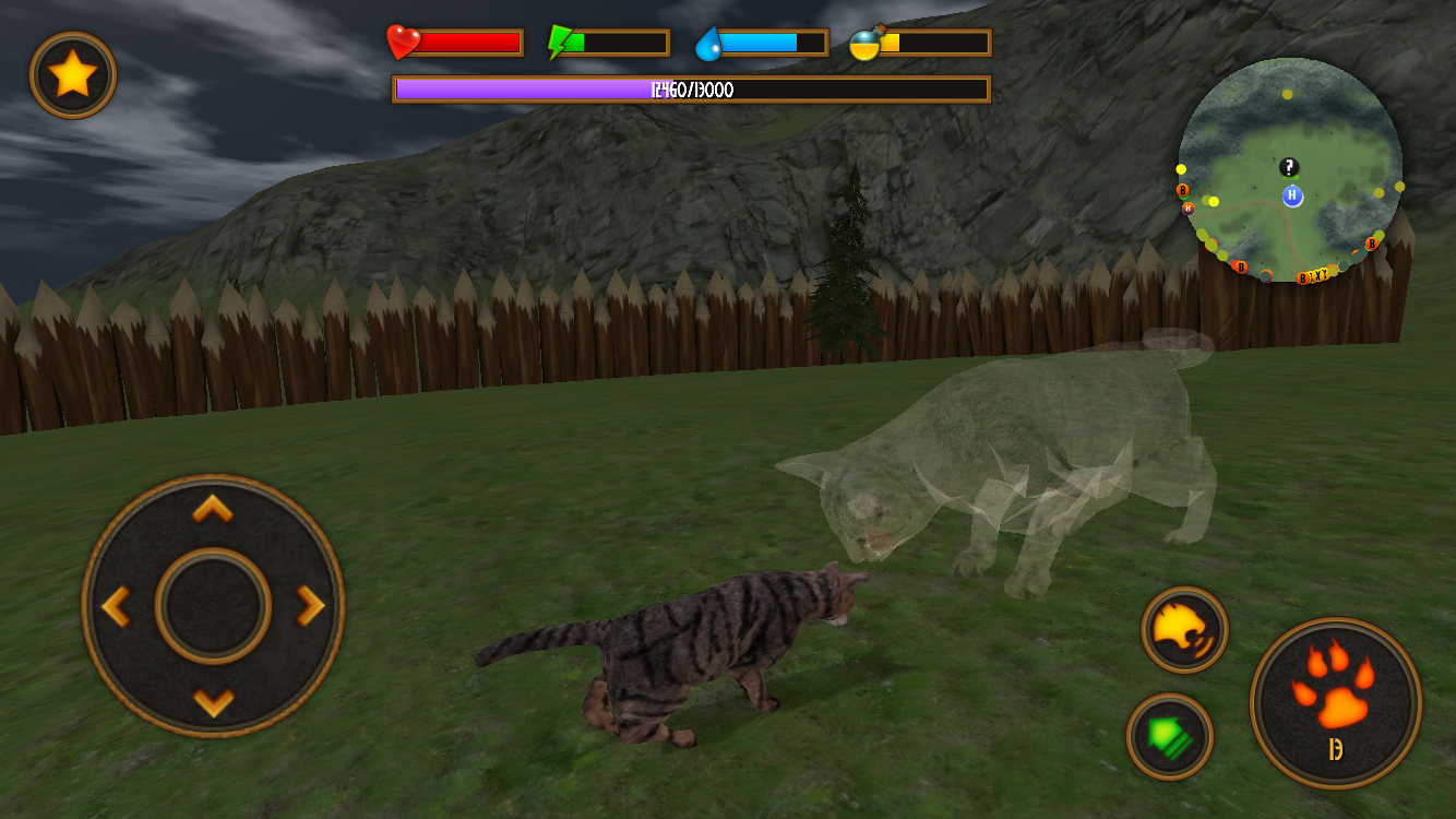 play warrior cats adventure game