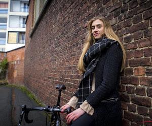 Cameron Vandenbroucke, de dochter van Frank Vandenbroucke en vriendin van Tim Merlier, houdt het voor bekeken als wielrenster