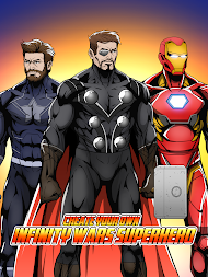 Create your Own Avenger Infinity Wars Hero APK screenshot thumbnail 1
