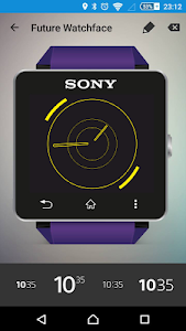 Future Watch face for SW2 Q15 screenshot 0