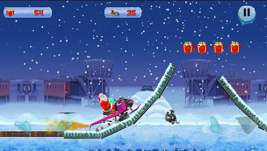 Santa Skiing - Addictive Christmas Adventure Game - náhled