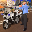 US Police Motor Bike Chase: City Gangster Fight icon