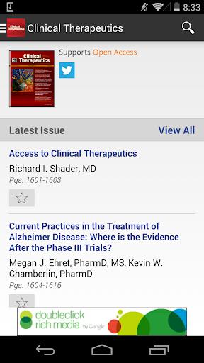 Clinical Therapeutics