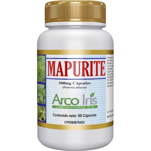 mapurite 300 mg 90capsulas arcoiris