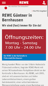 REWE Güntner screenshot 1
