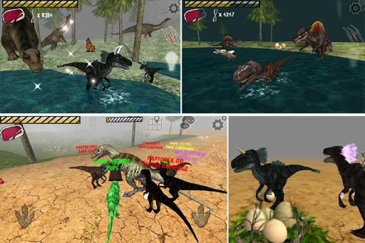 Raptor RPG - Dino Sim  screenshots 1