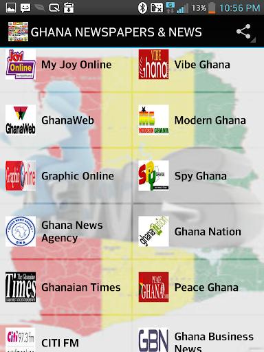GHANA NEWSPAPERS NEWS