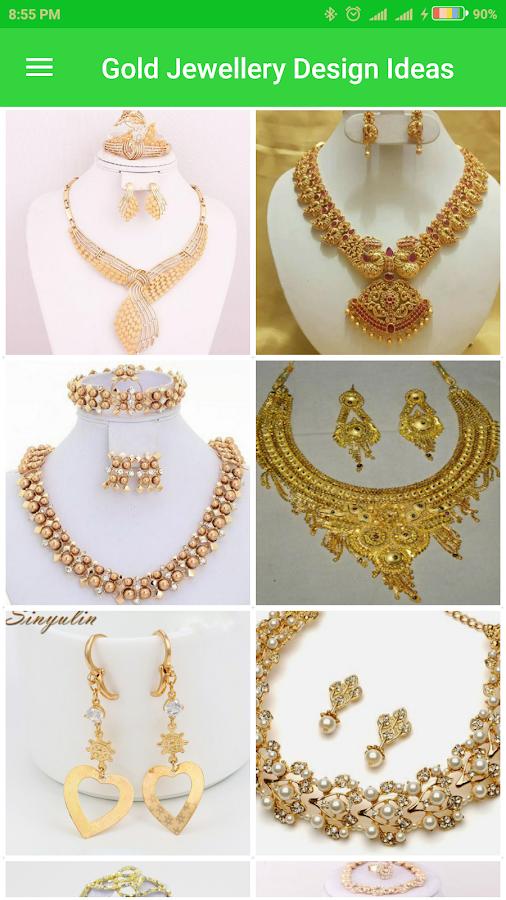 gold jewellery design ideas screenshot - Jewelry Design Ideas