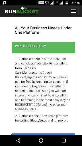BusBucket Seller
