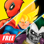 Superheros 3 Fighting Games icon
